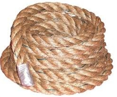 Coconut coir rope