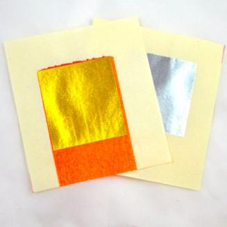 Silver /Gold Joss Paper for decoupage, scrapbooking, stamping