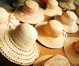 Palm hats (straw hats)